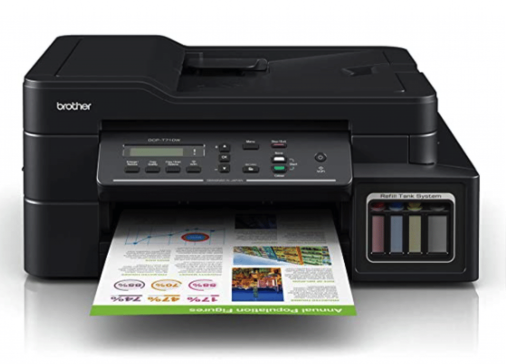 Brother DCP-T710W Inktank Refill System Printer