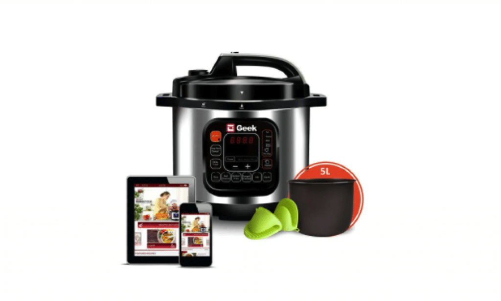 Geek Robocook Automatic 5 Litre Electric rice Cooker with 11 in 1 Function