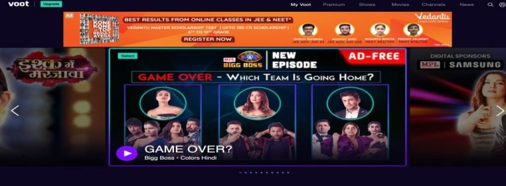 voot watch movies bollywood online