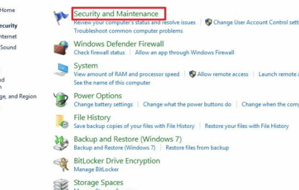 how to maintain windows 10