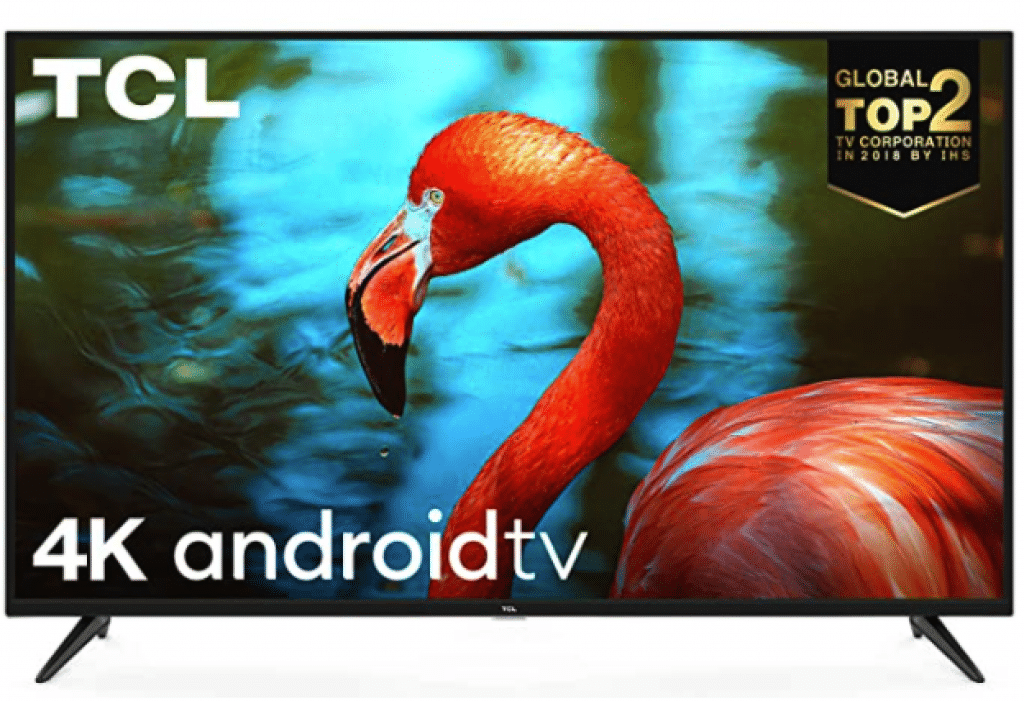 TCL 55 inches AI 4K UHD Certified Android Smart LED TV 55P8