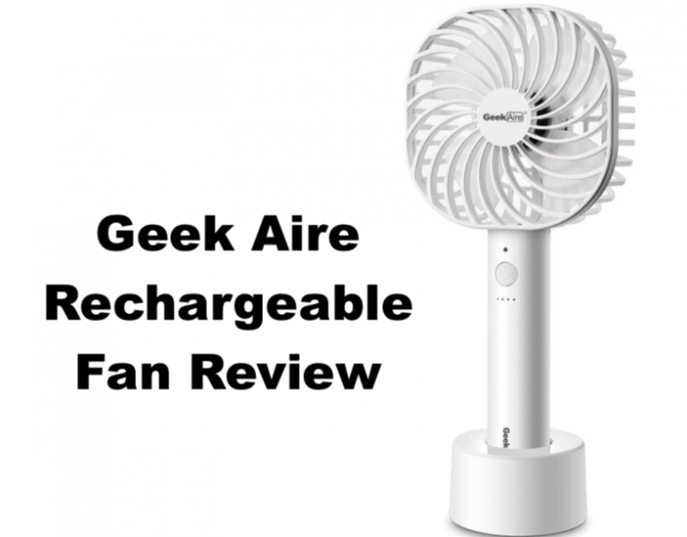geek aire rechargeable fan review