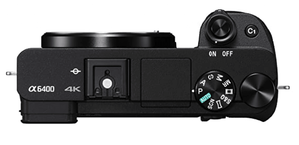 Sony Alpha ILCE-6400L buttons