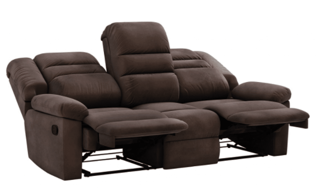 Amazon Brand Solimo Musca 3 Seater Fabric Recliner