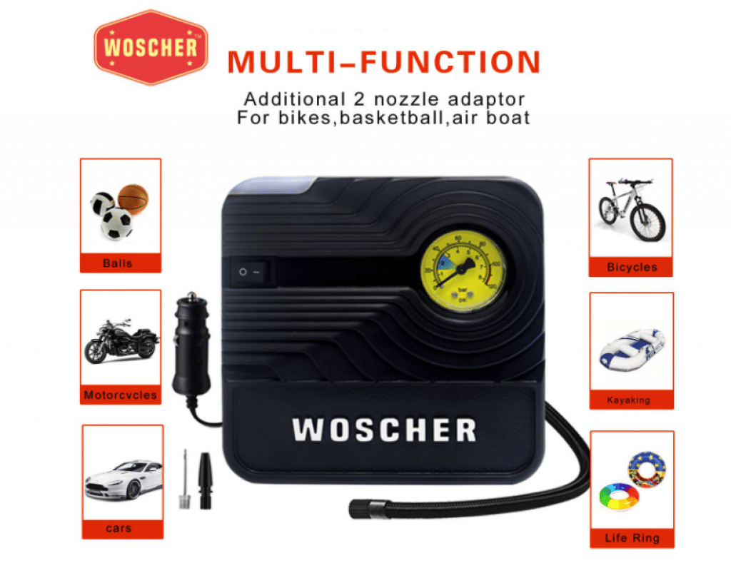 Best Tyre inflator for car
