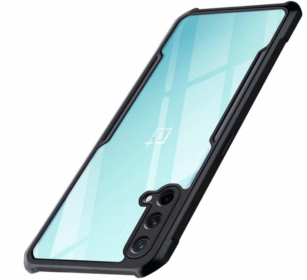 TheGiftKart Shockproof Crystal Clear OnePlus Nord CE 5G Back case