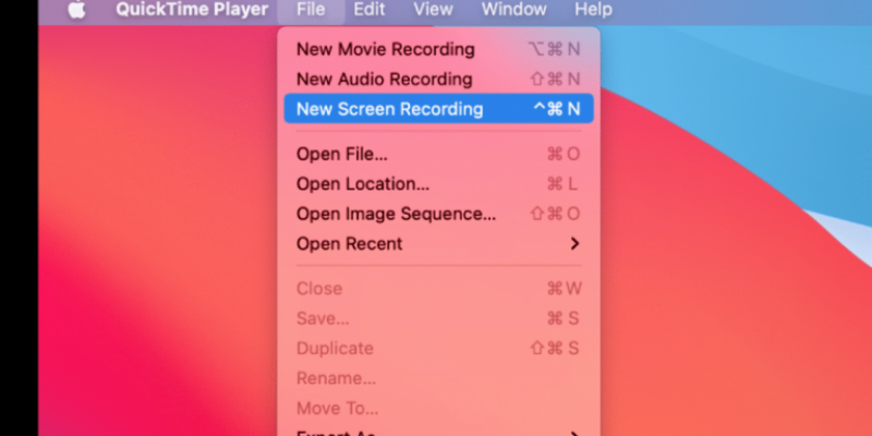 How to Record Screen on MacOS in Macbooks and iMac