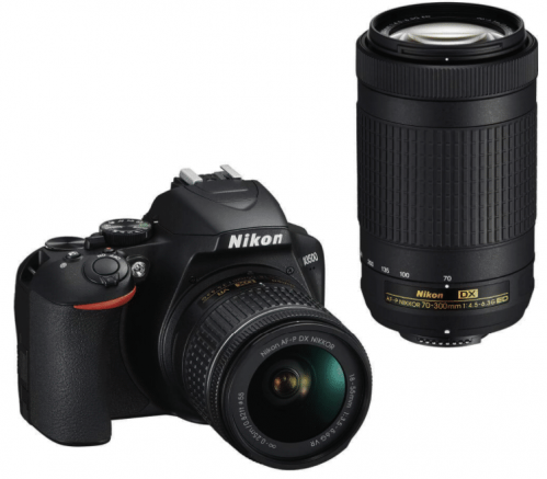 Nikon D3500 DX with 18-55mm and 70-300mm kit