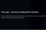 OnePlus Nord 2 Lab Programme and OnePlus Pro Buds